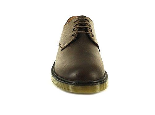 Red Tape , Chaussures de ville à lacets pour homme marron tan foncé