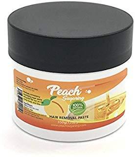 Sugaring Paste - Peach Sugar For Bikini, Brazilian, Legs, Arms and More
