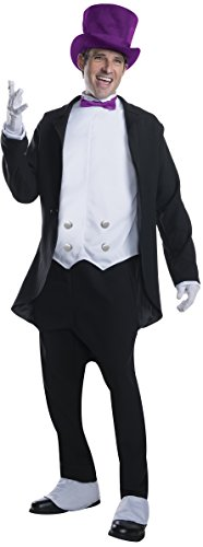 Batman Penguin Costumes For Adults (Rubie's Costume Men's Batman Classic TV Series Deluxe Adult Penguin Costume, Multi-Colored, Standard)