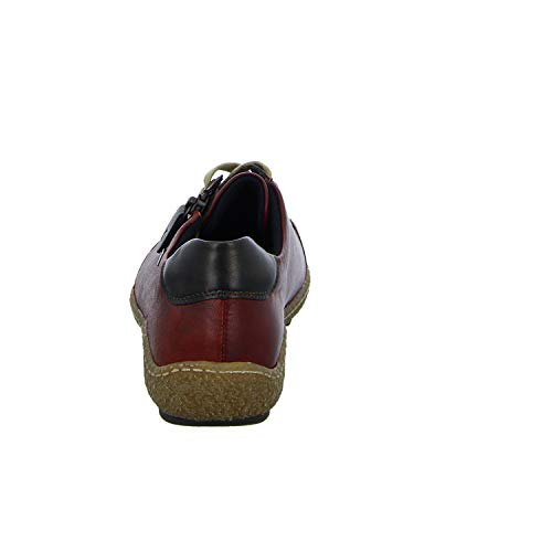 35 Remonte R4703 Cordones Medoc Zapatos Medoc Antik Medoc Antik Mujeres Rojo Medoc con rqtrzX8