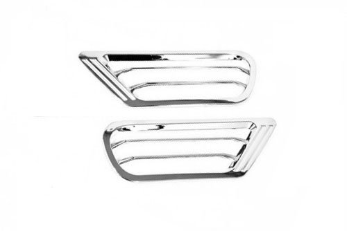 Amoutlet Chrome Side Air Vent Cover For Toyota Land Cruiser FJ100