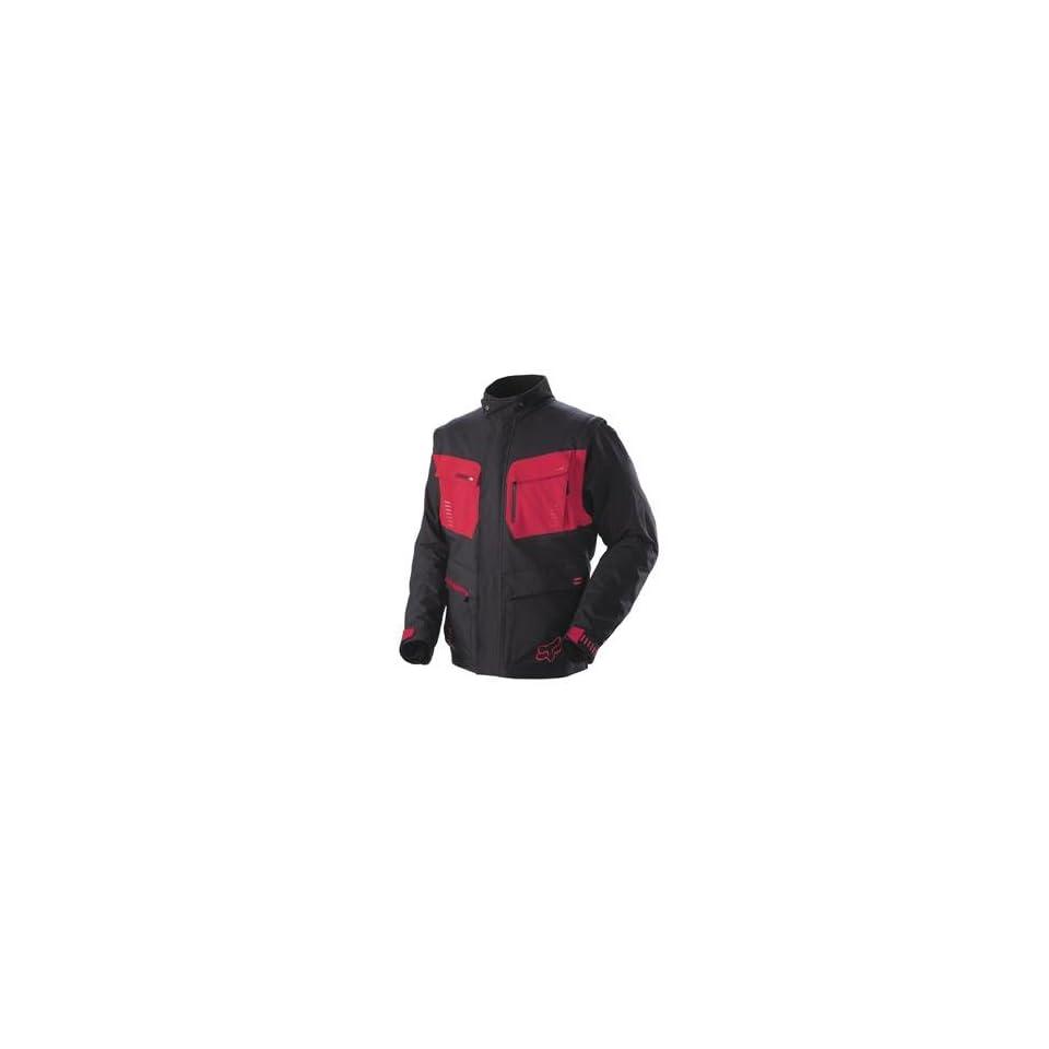 Fox Racing Panther Jacket   Large/Black/Red