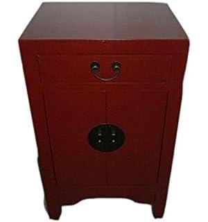excellent fine asianliving table de chevet chinois meubles petite table de  nuit rouge tiroir oriental asiatique salon with petite table de nuit 06c6aac91795