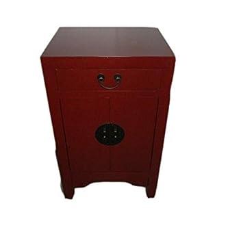 Nachttisch Rot nachttisch furniture kleiner nachttisch rot mit schublade