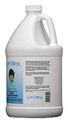 Lice Fairyz Kleen Free (1gal)- Natural All Purpose Cleaner -Kid Safe Family Friendly Cleanser -Plant Based Eco Cleaning Solution -Cleans Home Car Boat RV –Multi Surface House Product For Dirt Grease