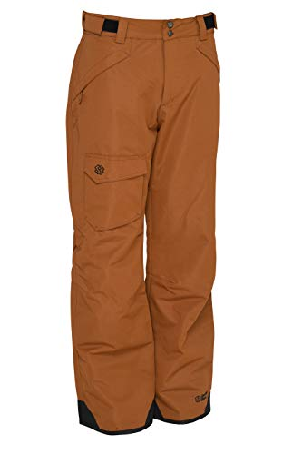 Special Blend | Mens Anti-Gravity Snowboard/Ski Pants (Duck Brown, Medium)