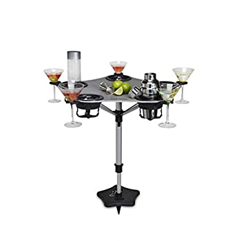 Image of Cocktail Drinkware Drink Daddy DDJ-6108 Portable Wine Table, Greyhound