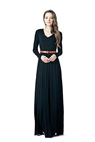 Buy belted evening dress - 4