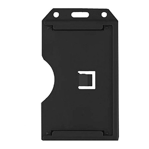 Black 2 Sided Rigid Multi Card Holder Sold Individually Model: 1840-3081 Office Supply Product Store