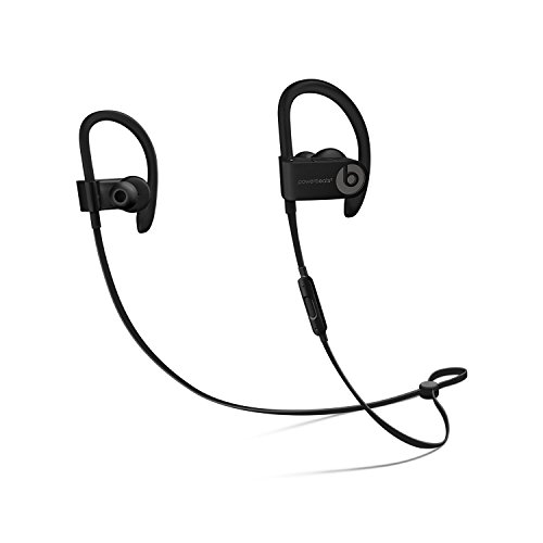 Beats Power_beats.3 Bluetooth Wireless Earphones with Charging Cable and Carrying Case (Black)