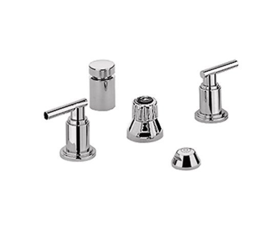 Grohe 24 016 BE0 Atrio Wideset Bidet Faucet, Sterling Infinity