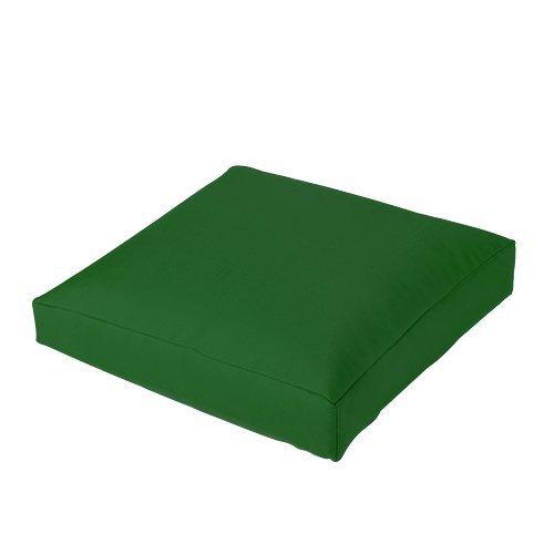 Außenbereich Esszimmer Wasserfest Garten Sitzsack Kissen Sitz Hocker, Erhältlich in 11 Farben - Grün, 4 Packungen