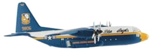 Postage Stamp Planes C-130 Hercules 'Fat Albert' Transport Diecast Model by Postage Stamp Planes
