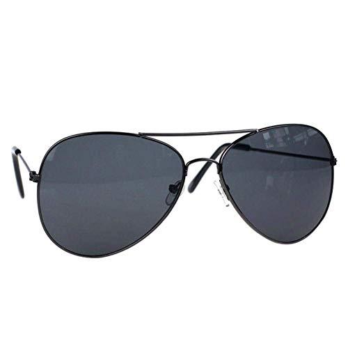 sol lente ancho de para vintage aviador metal sol de UV 40 colores UV400 9 2 de EDMMS diseño de mujer DDG marco y protección gafas Gafas de pulgadas hombre de con qznftt7F