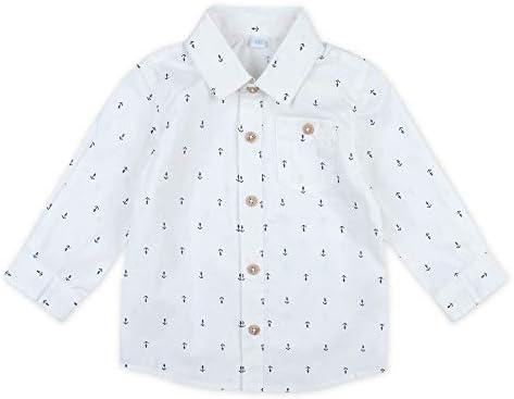 Feetje Baby-Jungen Hemd klassisches Hemd Langarm