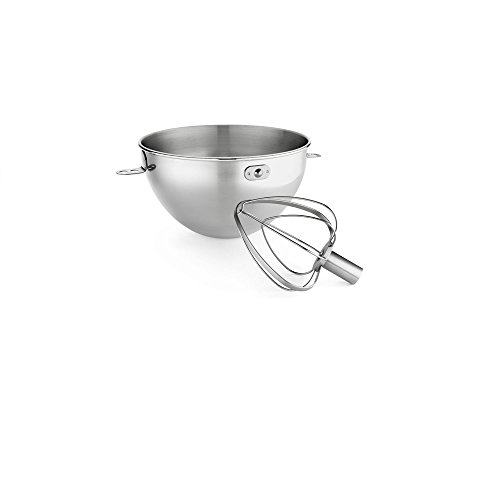 Stainless Steel Bowl and Combo Whip Set