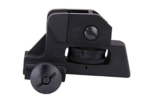 Rear Sight Tactical Aluminum Picatinny/weaver Complete Match-grade by Golden Eye Tactical