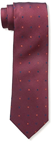 Price comparison product image YSL Men's Squares Tie,  Burgundy
