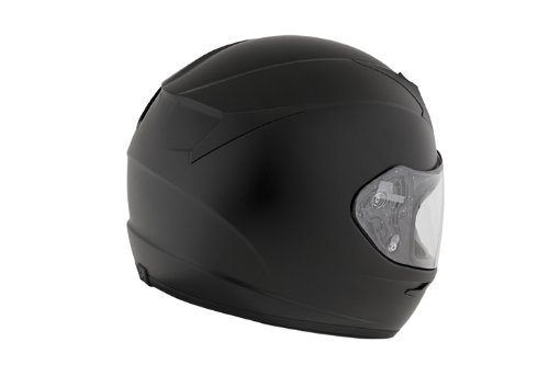 Scorpion EXO-R410 Solid Matte Black Full Face Helmet - Large