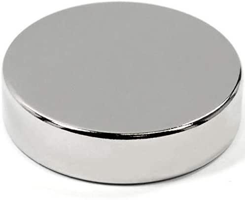 "Super Powerful Neodymium Disc Magnet Dia 1.5"" x 3/8"
