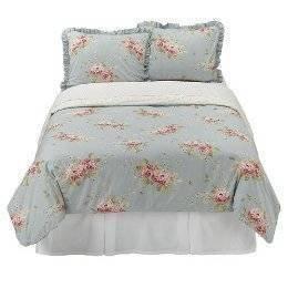 amazon com simply shabby chic hydrangea duvet set full queen rh amazon com Shabby Chic Cottage Shabby Chic Cottage