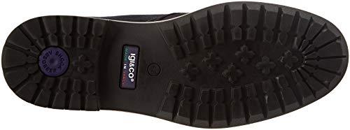 21063 IGI Uomo Alto Uca Sneaker 20 amp;CO Collo a Blu Blu HrBxr0