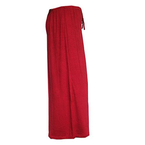 Flowerfox - Pantalón - para mujer Rojo