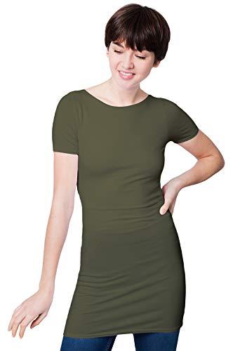 Kaki Corta Donna Vous shirt Paris Manica T Rendez 1fT0qA
