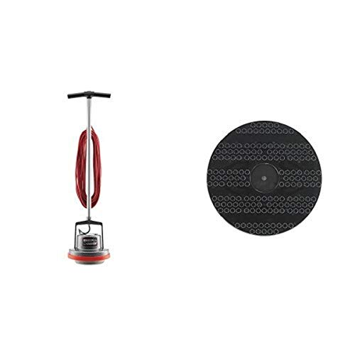 "Oreck Commercial ORB550MC Orbiter Floor Machine, 13"" Cleaning Path, 50' Cord and 53178-51-0327 Drive Pad Holder, 12"" Diameter, For ORB550MC Orbiter Floor Machine bundle"