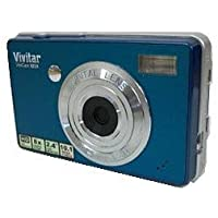 ViviCam X024 10.1 Megapixel Compact Camera - Turquoise Basic Facts Review Image
