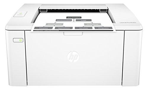 HP LaserJet Pro M102a Schwarzweiß-Laserdrucker (Drucker, JetIntelligence, USB, 600 x 600 dpi) weiß