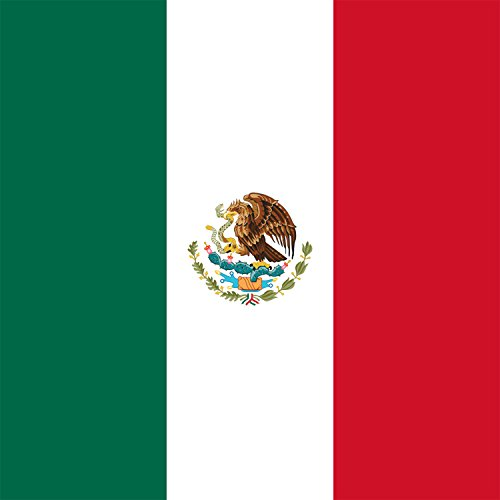 Mexico - World Country National Flags - Vinyl Sticker