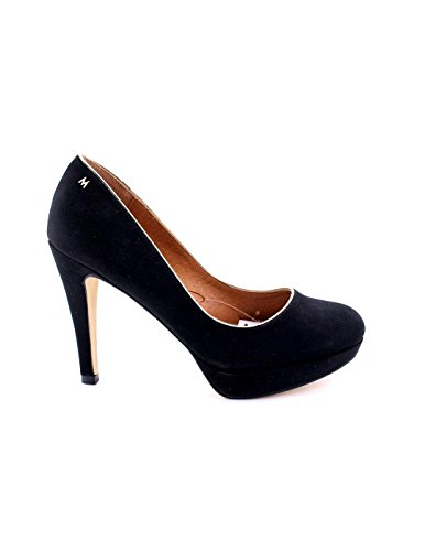 Zapato Maria Mare Tacón Negro Negro