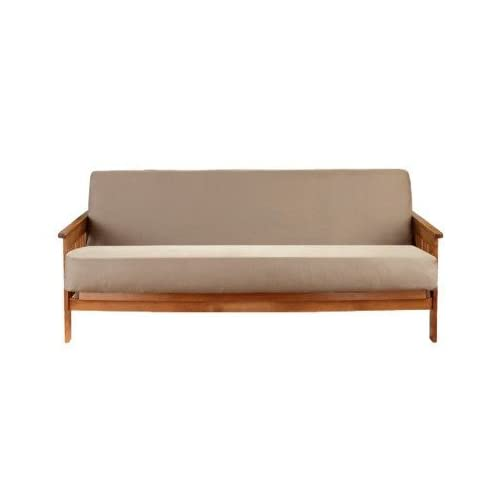 Amazoncom Restyle Room Essentials Futon Cover Cotton Tan