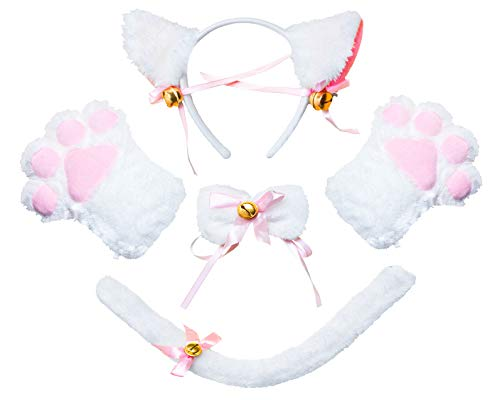 Beelittle Cat Cosplay Costume Kitten Ears Tail Collar