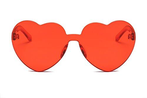 Color los de Europa Love Unidos de Gafas 6 en Jelly y Mujeres Corazón Gafas Color de YANJING Estados Sol 6 Corazón Trend Sol Forma Gafas Siameses gwPxqgC