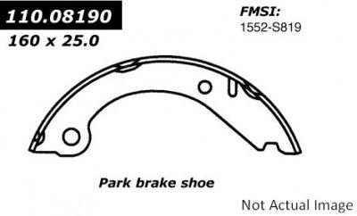 Centric (110.08190) Parking Brake Shoe 1979 Volvo 242 Brake