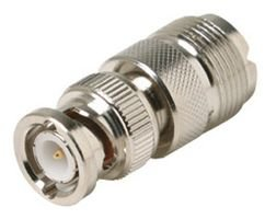 (RF / Coaxial Adaptor, Inter Series Coaxial, Straight Adapter, BNC, Plug, UHF, Jack)