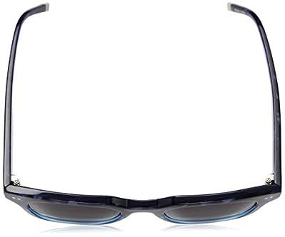 Calvin Klein Unisex Ck4353s Square Sunglasses, Havana Blue, 49 mm