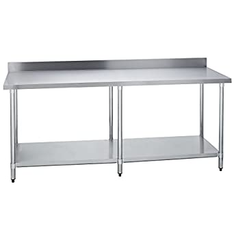 Amazon.com: Fenix Sol Stainless Steel Commercial Kitchen Work Prep ...