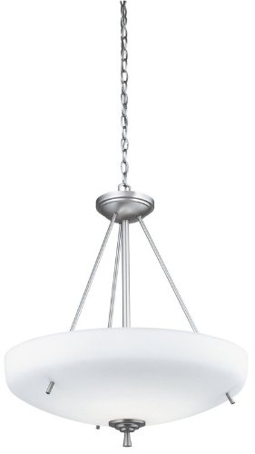 Lithonia 11538BN, Ferros Large Bowl Energy Star Pendant, 1 Light, 70 Total Watts Fluorescent, (Light Energy Star Bowl Pendant)