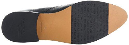 Royal RepubliQ Prime Fringe Shoe, Scarpe Stringate Derby Donna Nero (Nero)