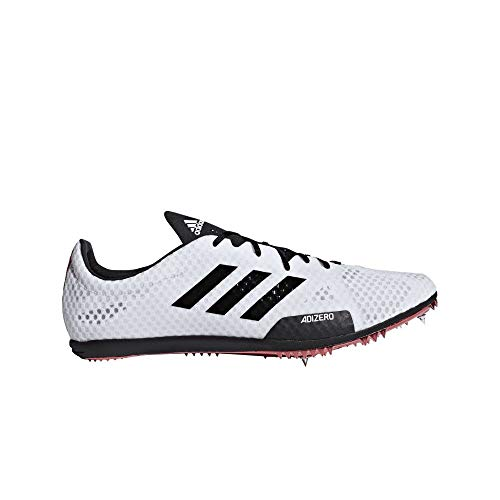 adidas Adizero Ambition 4 Spike Shoe - Men's Track & Field White/Core Black/Shock Red ()