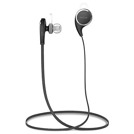 PANMARI original de la marca QCY QY8 en la oreja inalámbrica Bluetooth 4.1 auriculares estéreo para auriculares auriculares del deporte de música y llamadas ...