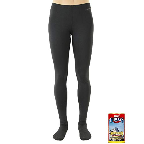 Hot Chillys Women's Micro-Elite Chamois 8K  Ankle Tight - Available in Can, Black, Small ()