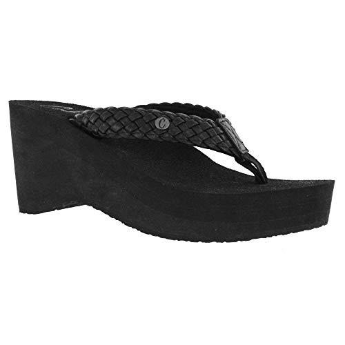 (Cobian Zoe Women's Flip Flop Wedge Sandal)