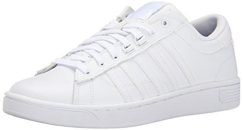(K-Swiss Women's Hoke CMF Casual Shoe, White/White, 8.5 M US)