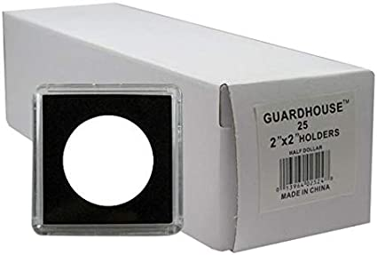 Snaplock Coin Cases Holders Silver Dollars White with Eagle 50 count