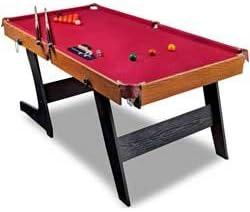 HY-pro 182,88 cm plegable mesa de billar.: Amazon.es: Deportes y ...