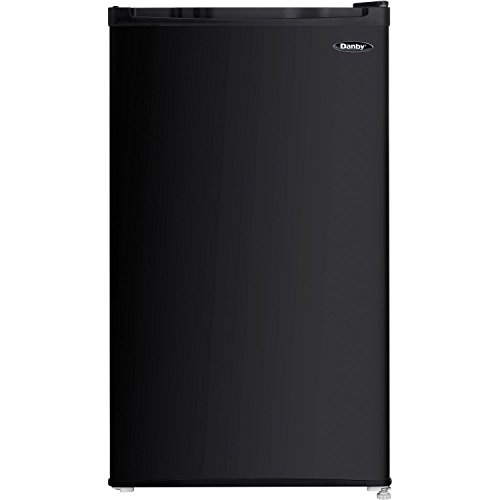 Danby DCR032C1BDB Compact Refrigerator,1 Door, 3.2 cu-ft, Black (Renewed)